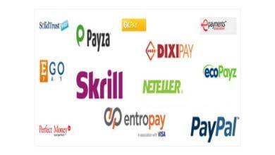 البنوك الالكترونية التي تدعم مصر