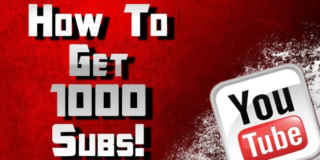 طريقة زيادة 1000 مشترك لقناتك على اليوتيوب 2020